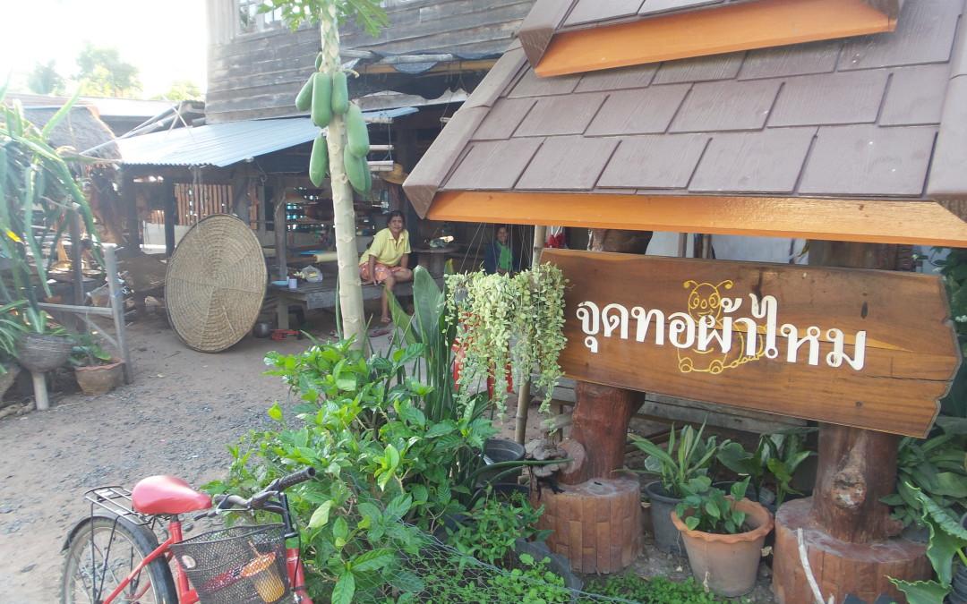 Das Leben der thailändischen Seidenweberinnen