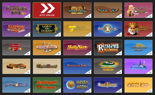 Die Klassiker: Novomatic Slot Machines und der Auftritt im Online Casino