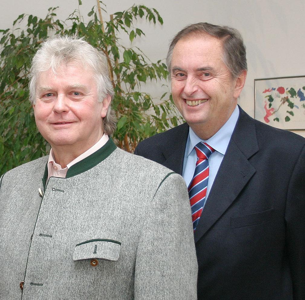 Foto: frei zum Abdruck, vlnr Karl. H. Schrittwieser (Obmann), Dr. Peter Vogler (Obmann Stv.)