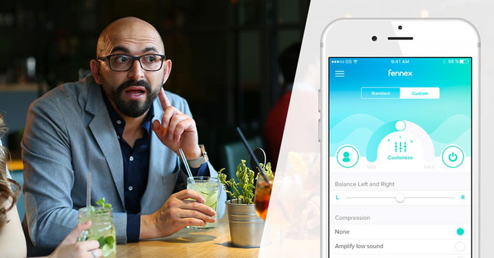 Die neue Hearing-App von Fennex