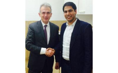 Rahul Kumar übernimmt als Unternehmer und Politiker Verantwortung