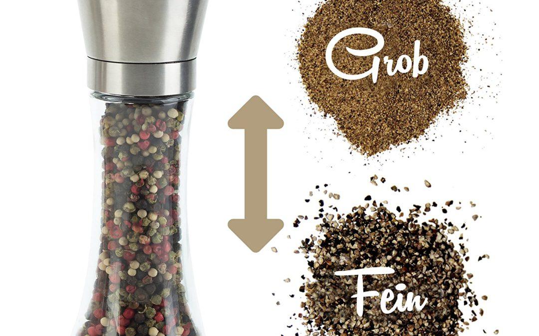Mit einem Salz-& Pfeffermühlen-Set etwas Gutes tun