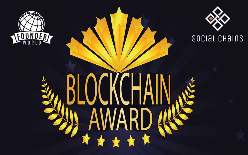 Social Chains, eine Social Economy Plattform für echte User gewann den Best Use Case of Blockchain Award 2018