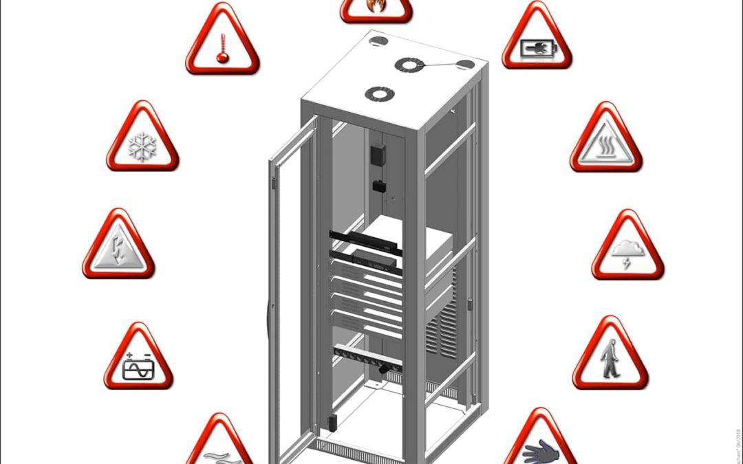 Serverraum überwachen mit Didactum Überwachungssystem