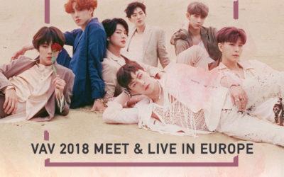VAV startet diesen Dezember eine weitere Runde der Encore Tour in 8 europäischen Städten in Deutschland, Frankreich, Spanien etc.