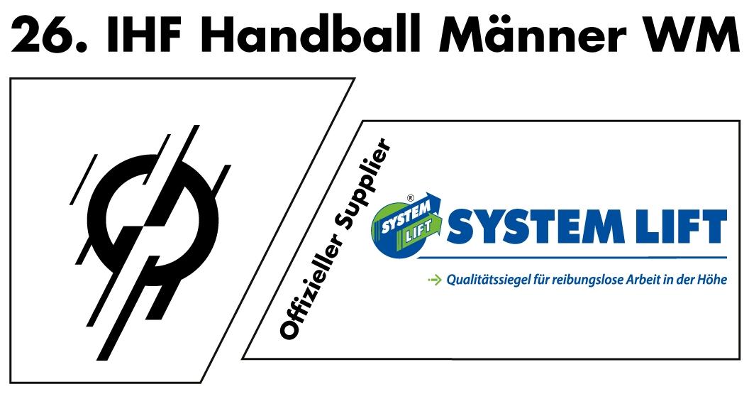SYSTEM LIFT, offizieller Sponsor der Handball WM 2019, vergibt 18 Mio. Euro schweren Auftrag