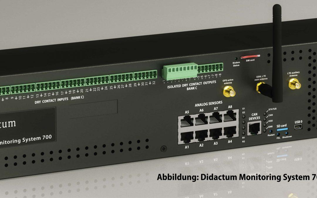Überwachungsgerät 700 für Rechenzentrum und Serverraum