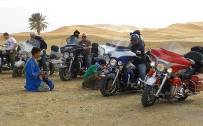 """Harley Davidson Motorradreisen in Marokko von """"Twintour Morocco"""""""