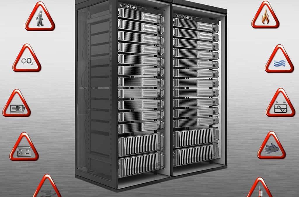 Serverraum und Rechenzentrum permanent überwachen