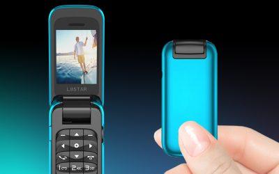 Das kleinste Flip-Musik-Handy der Welt