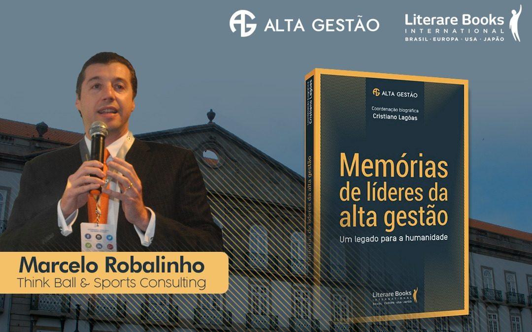 Think Ball Präsident Marcelo Robalinho bereitet sich für die Auszeichnung durch die Europäische Akademie für High Management vor