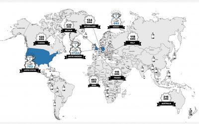 Weltweit über 5.400 verschiedene Gins