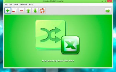 Neues Tool zur Massenkonvertierung von Excel XLSX/XLS-Datein zu PDF